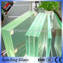 Clear Laminated Glass 6 38mm with ISO CCC