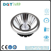 High CRI High Lumens 12W AR111 12v led spotlight outdoor