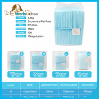 1.4KG Simple packing against leakage training pads for puppies pee pads for dogs