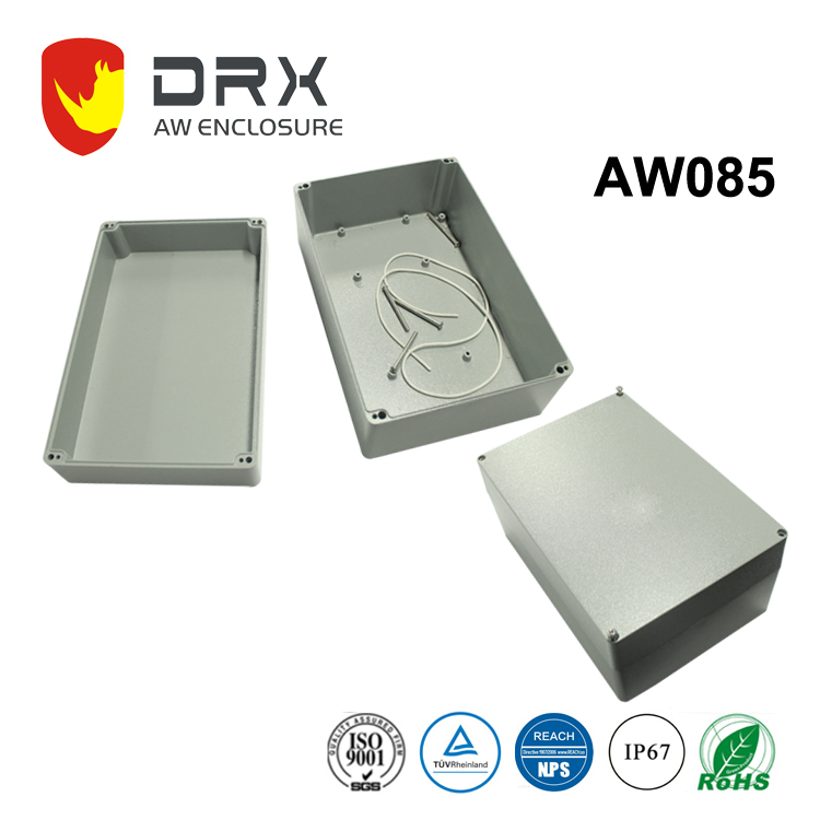 Ningbo Everest AW085 Die casting aluminum water proof box / metal seal box / amplifier enclosure