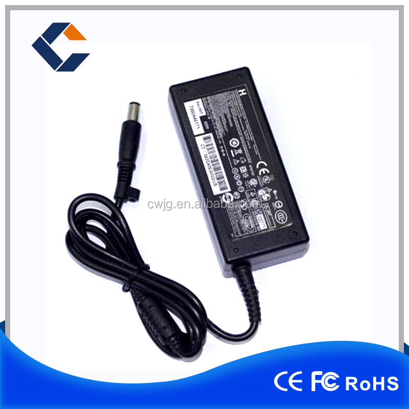 Hottest Black color ac dc adapter for hp laptop 90w