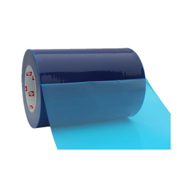 PE Self Adhesive Stick Clear Protective Sheeting Scrap Plastic Film Roll
