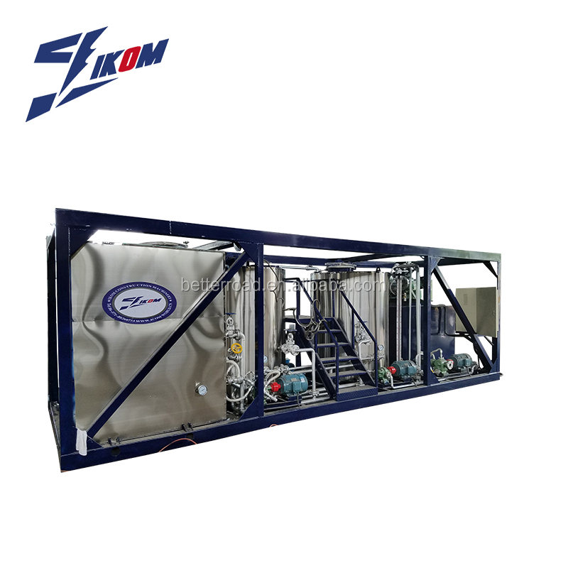 machinery for emulsion bitumen standard from plant
