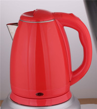 Electric kettle components manufacture red