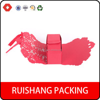 Wholesale red beautiful Paper Wedding Favor Candy Box