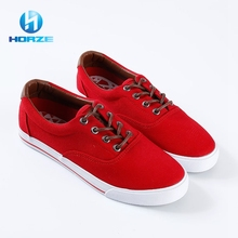 Campus Casual Flat Sole Wholesale Canvas Shoes Red / New Model Shoes Men