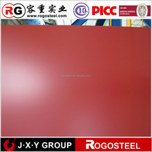 high quality metal rib type sheetfine package color coated galvalume steel sheet from china local mill