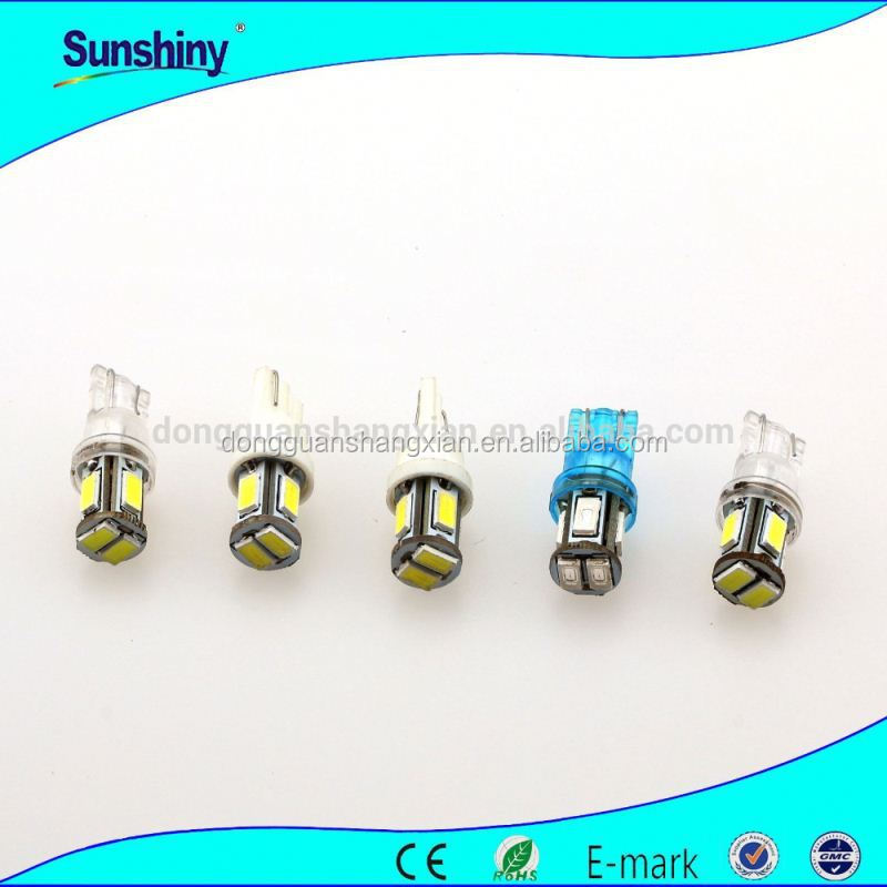 socket T10 5w high power Auto LED reverse light 2012 new hot selling