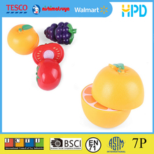 Plastic Food Cutting Game Toys with EN71&ASTM