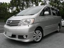Alphard G 2002 used cars