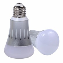 A19 Smart Wi-Fi LED Dimmable Light Bulb, RGB, No Hub Needed,Works with Amazon Alexa and Google Assistant