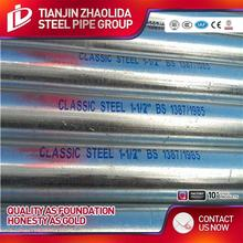 BS EN39 48mm scaffolding carbon steel welded galvanized steel pipe size with price per ton
