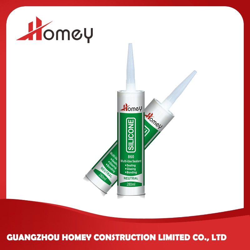 Homey 860 concrete expansion joint filler colored silicone sealant