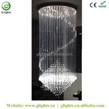 led chandelier crystal fiber optic chandelier