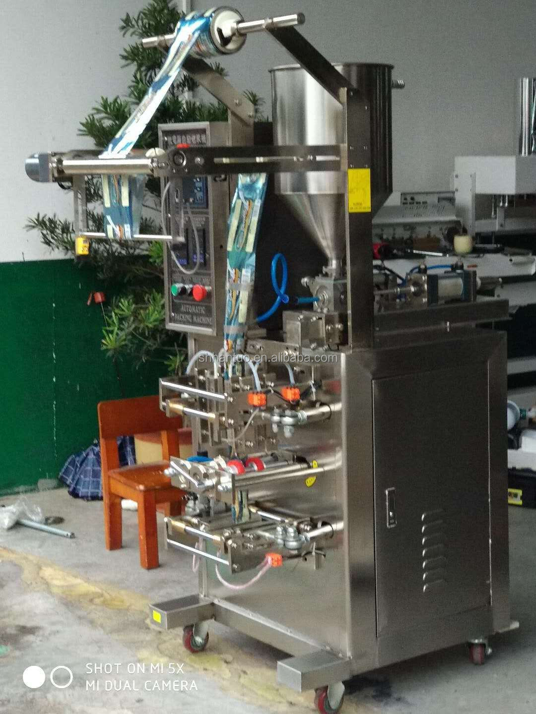 2019 New Arrival Best Price Shampoo packing Machine for ketchup