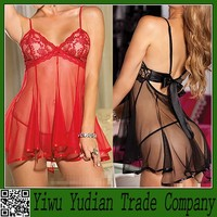 Wholesale Baby Doll Sexy Mature Woman Lingerie for Fat Woman