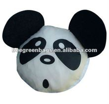 190T Polyester Funny Foldable Bag in Panda Shape