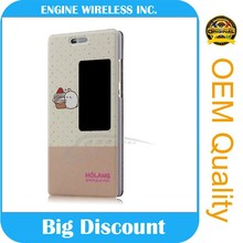 china suppliers customs genuine leather cheap mobile phone case