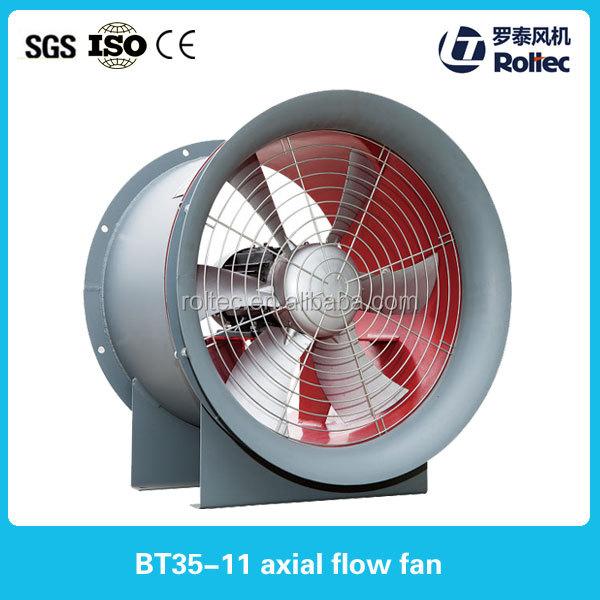 Wall mounted heat recovery forced ventilator big fan