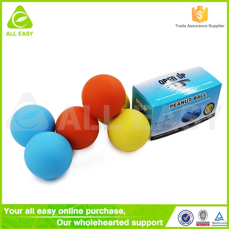 Custom Promotional Rubber Silicone Body Massage Ball