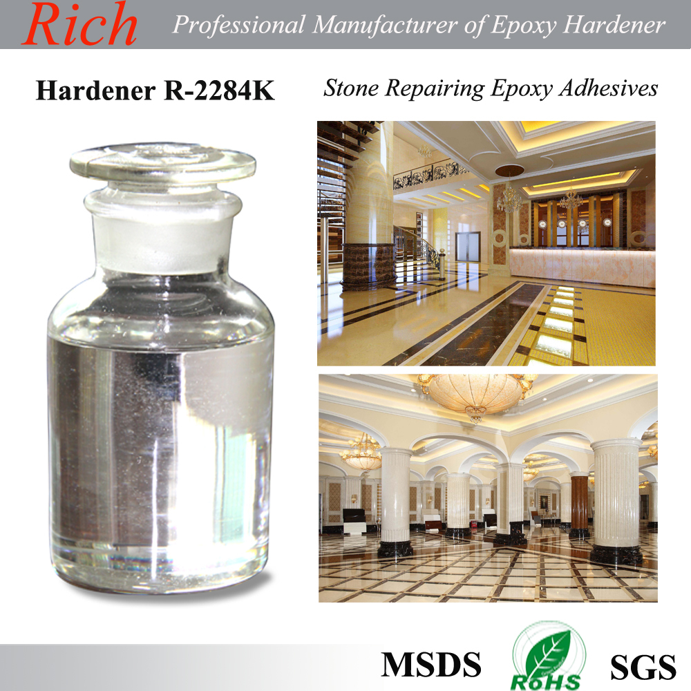 Epoxy resin and hardener for stone repairing epoxy glue R-2284K