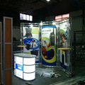 small truss booth display rack, 10x10 feet trade show stand display for exhibition design