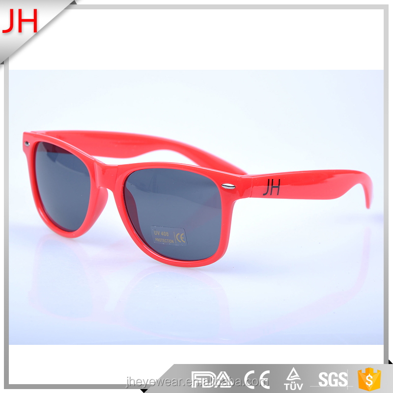 2017 Short-Time Promotional Red Lens Sunglasses