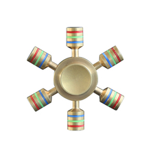 Metal/ Brass/ Titanium/ Aluminium Alloy EDC toy Finger Spinner Bearing