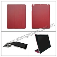 Hot sale wholesale Sleep function leather housing case with stand for ipad 3/4 made in China Shenzhen