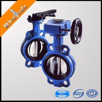 Price Butterfly Valve Water Ductile Iron Handle Electric PN10 16 2''-24''