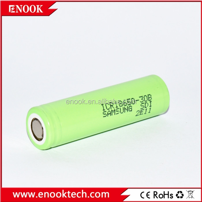 Samsung ICR 18650 30B 3.7V high capacity rechargeable li-ion battery electric car batteries sale