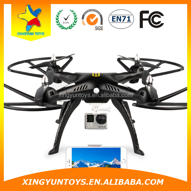 Drone Helicopter XY810 Phantom 2 FPV Drone 2.4G 4CH 6-Aixs RC Quadcopter with 2MP Camera