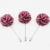 Hot Selling Pink Floral Lapel Pin Brooches