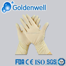 medical latex examination gloves