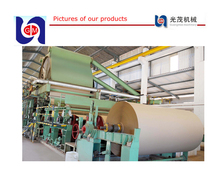 30 ton HOT SALE 1575mm duplex board paper machine, test liner fluting paper machines, waste carton paper recycling machine