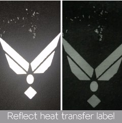 hot selling fashion and top quality custom vinyl heat transfers for lover's clothing