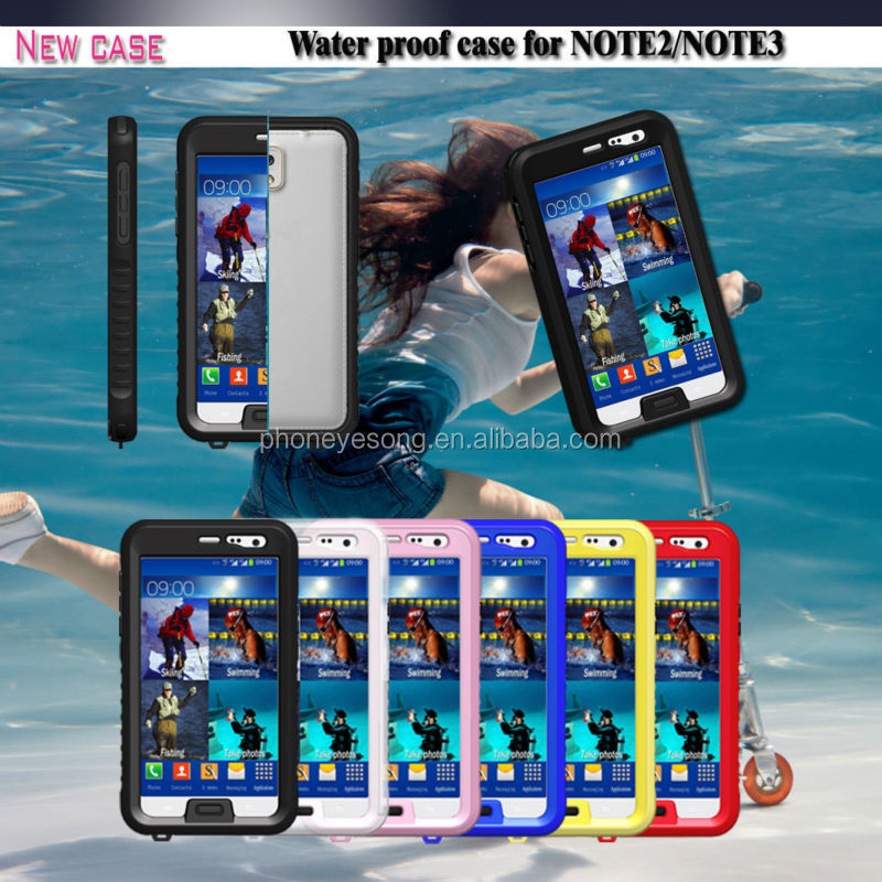 Good Quality cell phone case/For Samsung Galaxy Note 3 Waterproof Case