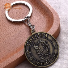 3D zinc alloy casting house shaped trolley coin holder key chain