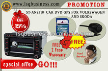 Volkswagen car radio with gps navigation free map