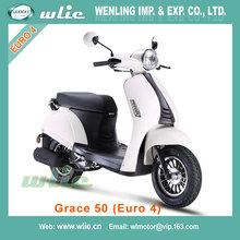 Fast delivery 49cc cheap gas scooter 50cc 125cc 4 stroke Motor Scooter Gas Moped Grace (EEC Euro 4)