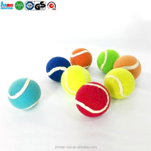 JM-TB6265A china suppliers pet supply Pet colored Tennis Ball With Teeth Dog Toy for wholesale
