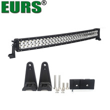 EURS ShenZhen best selling 6000K 13500LM double rows curved 180W led light bar