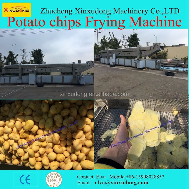 Fully Automatic China Manufacturer Fresh Potato Chips Machine Line