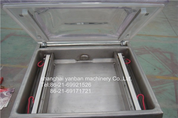 High Quality Full Stainless Automatic Vacuum Food Meat Packing Machine YB-400