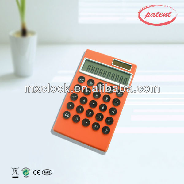 YD9021 red note pad calculator