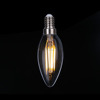 CE ERP energy saving bulb decorative filament dimmable filament led candle bulb