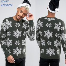 Unisex knitted Christmas sweaters Ugly sweaters pull over jumper adult hot sale wholesale Christmas Jumper