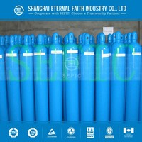 China Supplier ISO9809 Standard Medical Nitrous Oxide Cylinders Steel Welding Argon And CO2 Cylinder