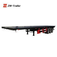 Trailer Manufacturer Container Trailer 20FT Low Price 40FT Used Container