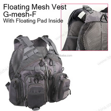 top quality fly fishing floating mesh vest